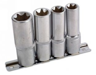 Laser 3392 Star Deep Socket Set - 4 piece
